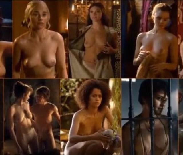 Todas Las Famosas Desnudas De Game Of Thrones Juego Tronos Porno 2017