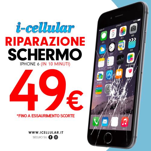 cambio vetro iPhone roma
