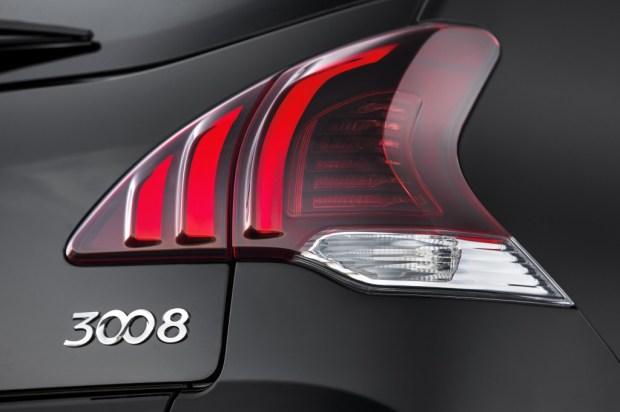 3008 rear detail