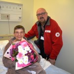 12,000th patient celebration for NNUH Red Cross Service