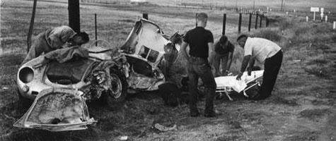 James Dean crash