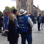 100,000 visitors assisted by Norwich BID's City Hosts