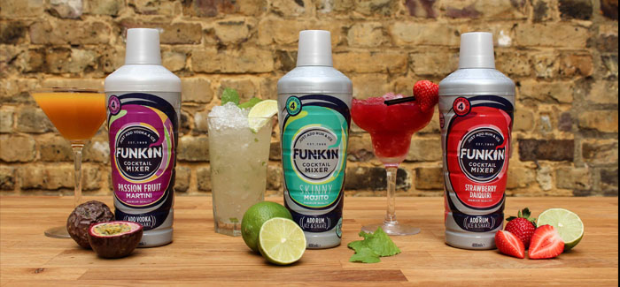 Funkin Cocktails launches new all-in-one cocktail shaker