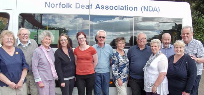 Norfolk Deaf Association Appeal for Volunteers and National Volunteers' Week Celebrations