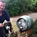 Recycled Beer Barrels are New Dog Watering Stations at Fairhaven Woodland and Water Garden