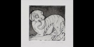 beasts, more, beasts, exhibition, drawings, etchings, Jo Davis Trench