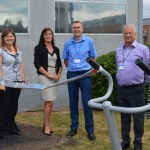 Outdoor gym installed at NNUH to support health and wellbeing of staff and visitors