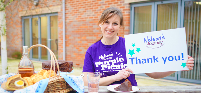 Nelson's, journey, purple, picnic , treat, local, charity, raising, support, bereaved, children, Norfolk