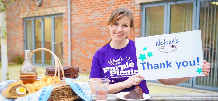 Nelson's, journey, purple, picnic , treat, local, charity, raising, support, bereaved, children, Norfolk