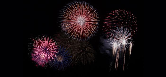 Cromer's New Year's Day Firework Display 2018