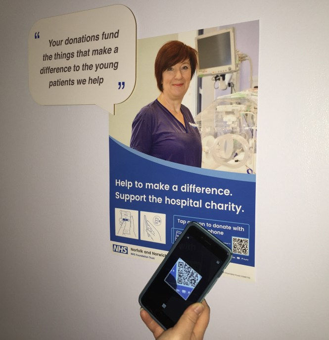 Innovative platform to help raise awareness of hospital charity