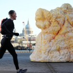 A gigantic 'fatberg' made of real lard appeared in central London