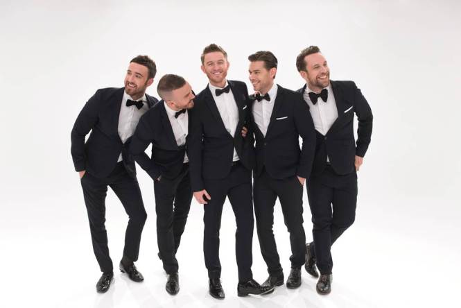 THE OVERTONES play NORWICH - UEA on Saturday 3rd March!