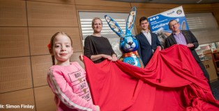 Dipple & Conway reveals magical GoGoHare at children's library