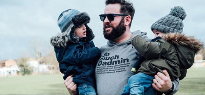 Dadmin Launch Charity T-Shirt in Collaboration with Action For Children