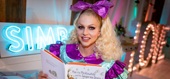 Courtney Act is helping kids who feel 'unaccepted' by their peers