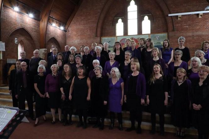 Norwich Community Choir in concert