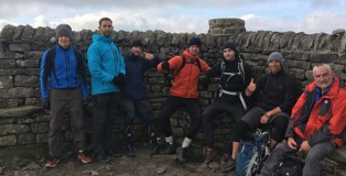 Friends smash 'six peaks challenge' to raise over £3,000 for the nook appeal