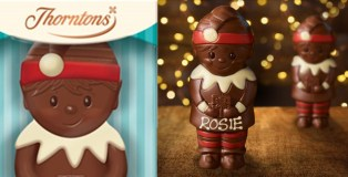 Unwrap the magic of Christmas with the new Thorntons Cheeky Elf