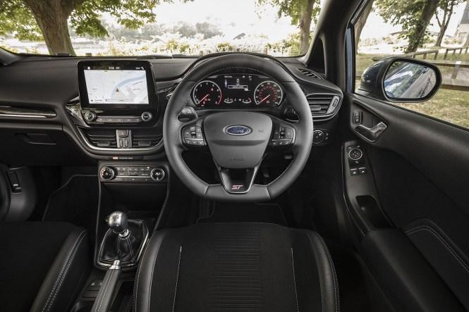 New Fiesta ST cabin