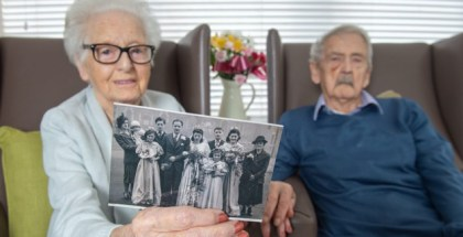 Couple set to celebrate their 75th Valentine's Day together as a married couple - at the age of 95
