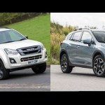 The Isuzu D-Max and Subaru XV go head to head