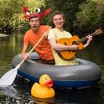 Poet Simon Mole and musician Gecko bring their new musical Mole & Gecko: THE SHOW to Norfolk