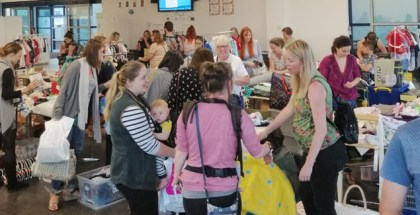Local parents go mad for baby bargains