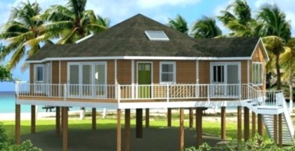 Tiny Beach Cottage Plans