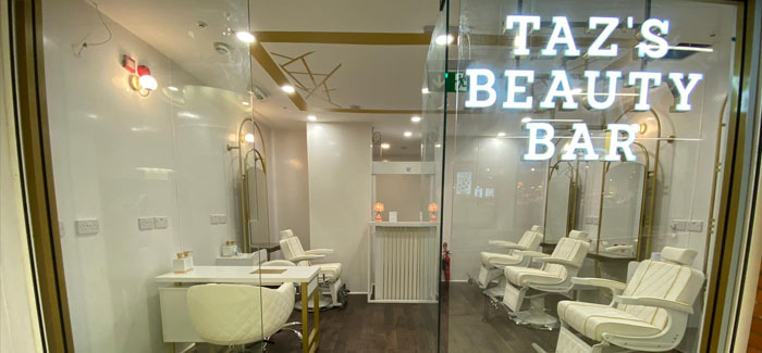 New beauty bar