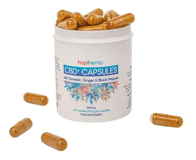 Hapihemp capsules