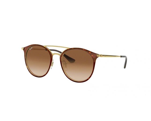 ray ban junior rj9545s gold on top havana brown