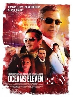 ocean s eleven movie poster 2001 poster
