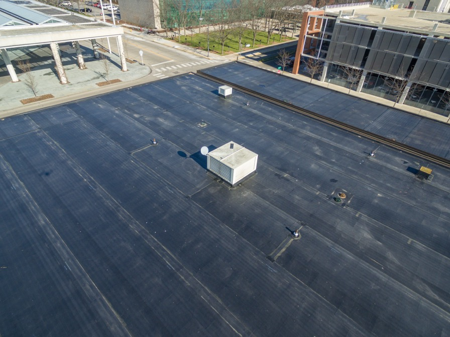 photo of this commerical roofing project by ICE Roofing, Panama City roofing company