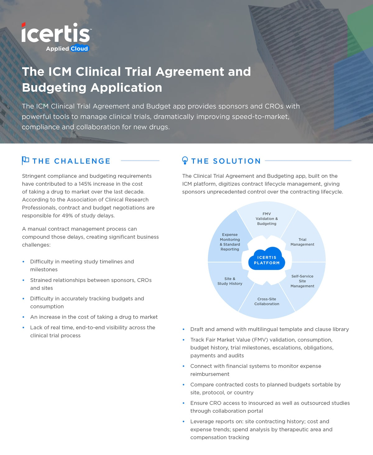 Icertis Clinical Trials Amp Budgeting App