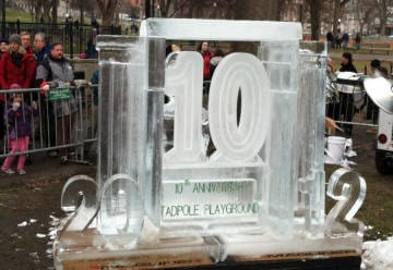 Boston first night ice carving 15