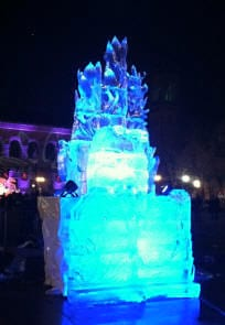 Boston first night ice carving 39