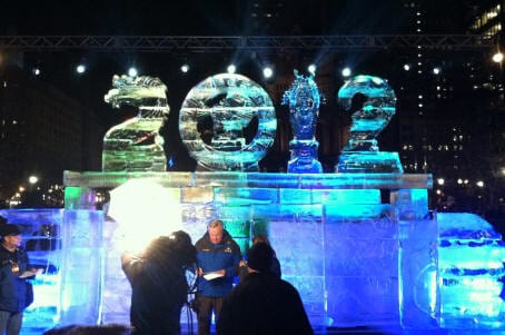 Boston first night ice carving 40