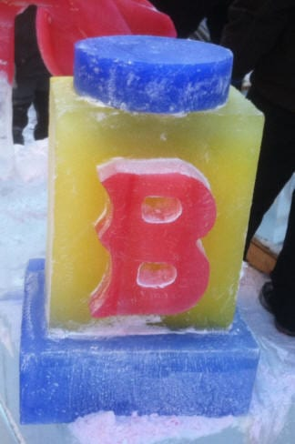 Boston first night ice carving 7