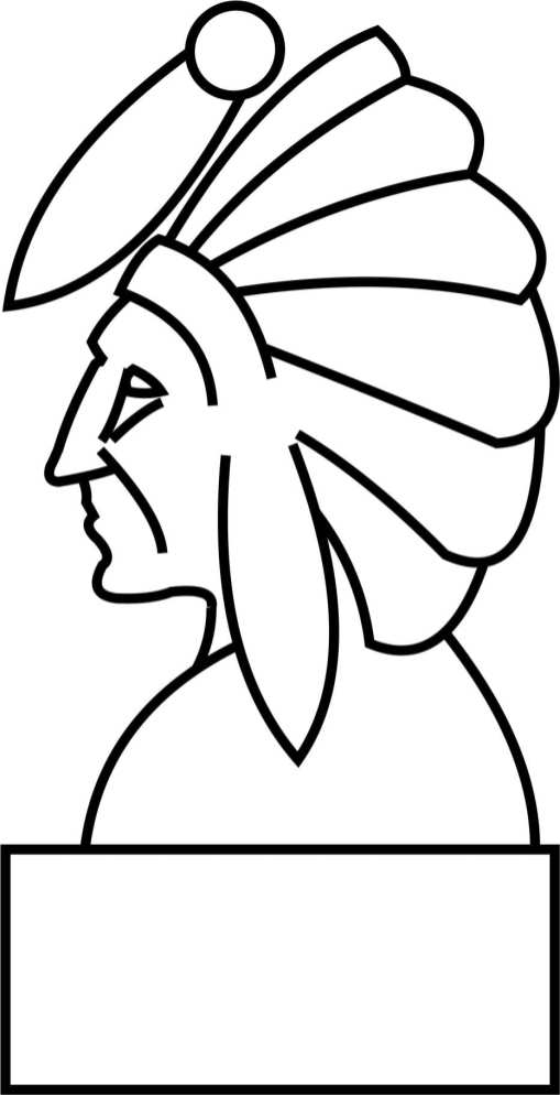 Indian Head Template