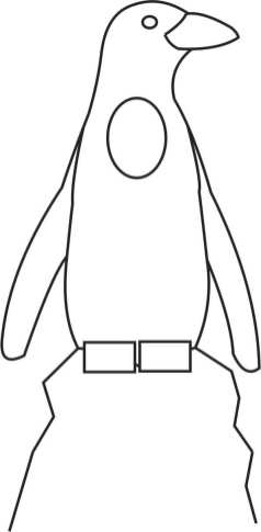 Penguin photo op Template