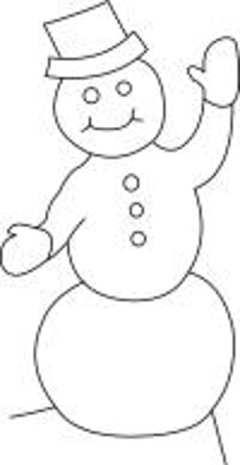 Snowman Template