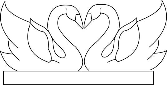 Dual Swans Template Template