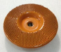 super disc 125 flat orange 5 inch