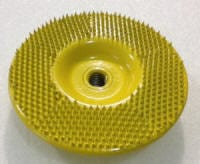 super disc 140 flat yellow 5 inch