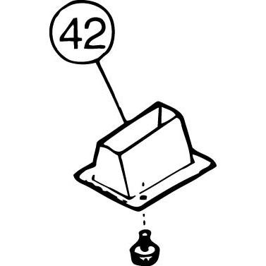 FM-800E #42 Ice Guide Tube