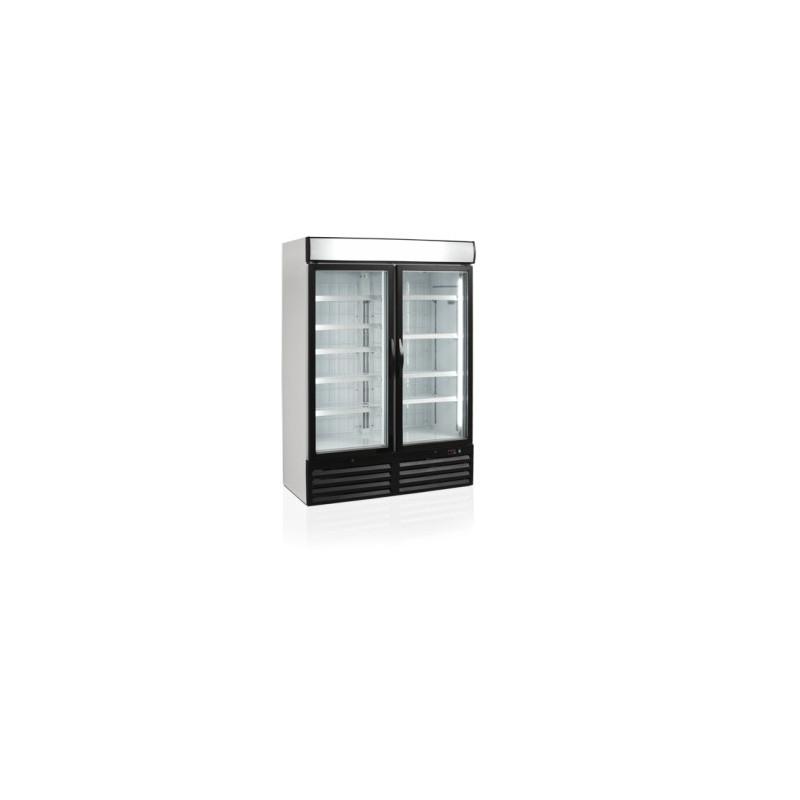 congelateur avec deux portes vitrees 930 l