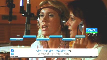 ABBA SingStar screenshot