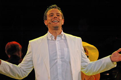 Adam Pascal during One Night In Bangkok