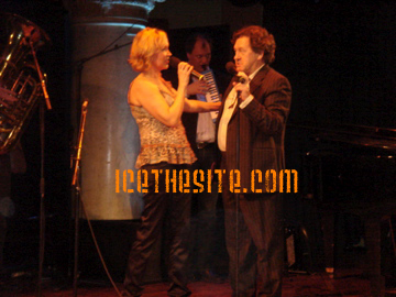 Agnetha and Tommy take to the stage for the song 'True Love'